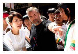 Michelle Yeoh e Luc Besson