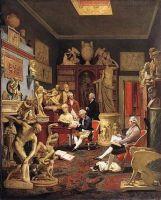 Charles townley nel suo studio