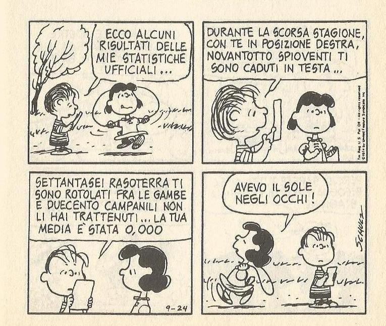 Linus e le statistiche