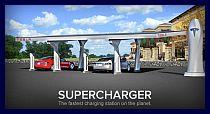 Il super charger della Tesla