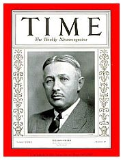 La copertina di Times del 1936