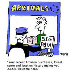 Conseguenze della raccolta di big data