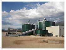 L'impianto di biogas della Terranova