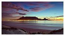Table Mountain al tramonto