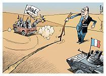 la vignetta di Patrick Chappatte sull International Herald Tribune