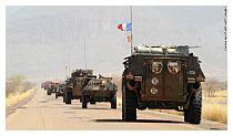 Il convoglio di truppe francesi in Mali