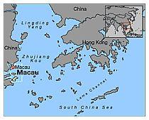 Posizione di Macao