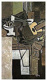 Un'opera di Braque