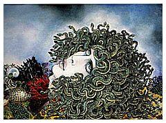 La testa di Medusa di Caruso