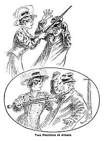 Ombrello da difesa per signore