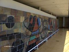 Muro in ceramica Sede Unesco