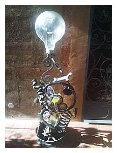 La lampadina di Casina Giustiniani