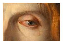 particolare dell'occhio