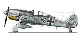 un'aereo della Focke-Wulf