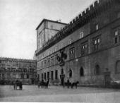 Palazzetto Venezia prima dello spostamento