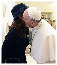 Cristina kirchner e Papa Francesco