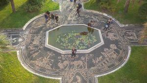 Giardino terrazzato di Palazzo Reale