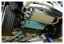 Un motore ibrido Peugeot ad aria compressa