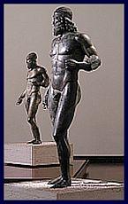 I bronzi al Museo